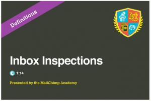 Inbox Inspector - Mailchimp